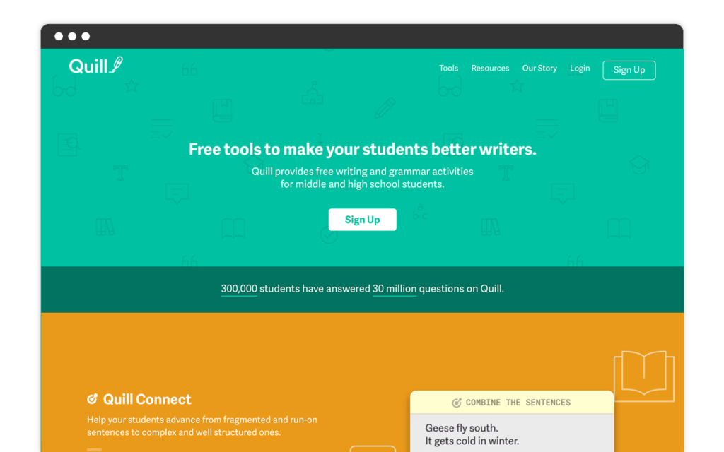 Quill-Homepage